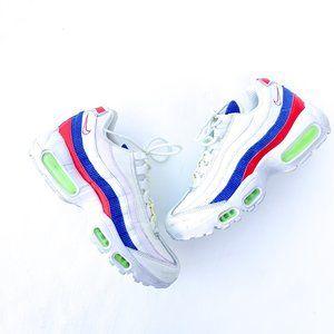Nike Air Max 95 Panache Corduroy White Sneakers